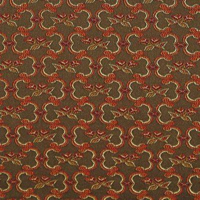 Жаккард Ткань Grazia romb brown для обивки мебели