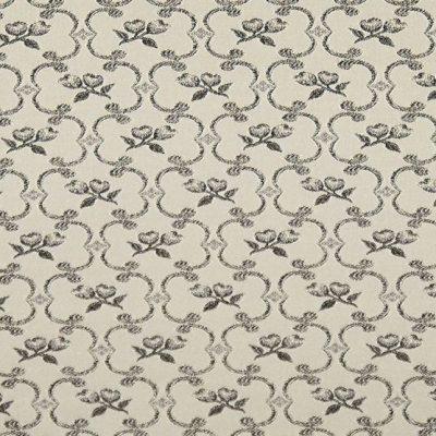 Жаккард Ткань Grazia romb grey для обивки мебели