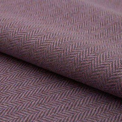 Рогожка Ткань ECOTWEED dark purple для обивки мебели