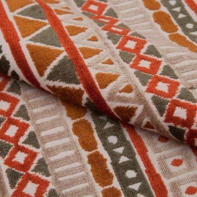 Шенилл ONTARIO jaffa orange для обивки мебели