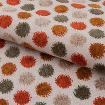 Шенилл ONTARIO pea jaffa orange для обивки мебели