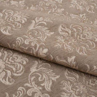Шенилл Ткань PAOLA beige для обивки мебели