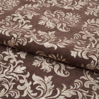 Шенилл Ткань PAOLA brown для обивки мебели