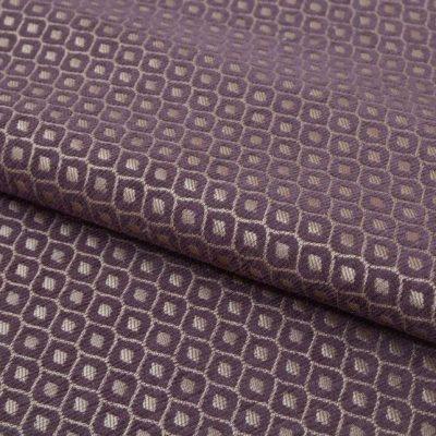 Шенилл Ткань PAOLA romb violet для обивки мебели