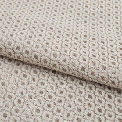 Шенилл Ткань PAOLA romb white для обивки мебели