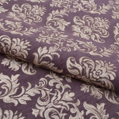 Шенилл Ткань PAOLA violet для обивки мебели