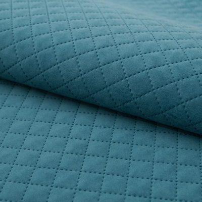 Велюр TRINITI romb azure для обивки мебели