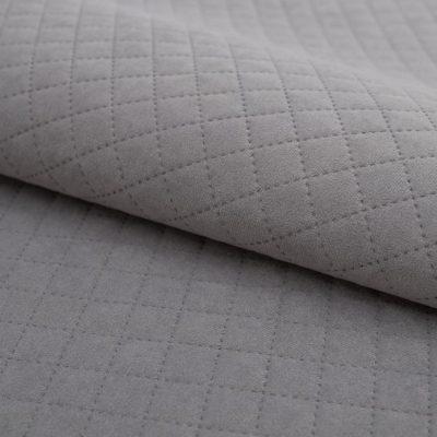 Велюр TRINITI romb grey для обивки мебели