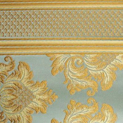Жаккард Ткань ANGELIQUE ligne bleu luxe для обивки мебели