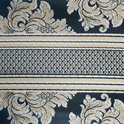 Жаккард Ткань ANGELIQUE ligne bleu royal для обивки мебели