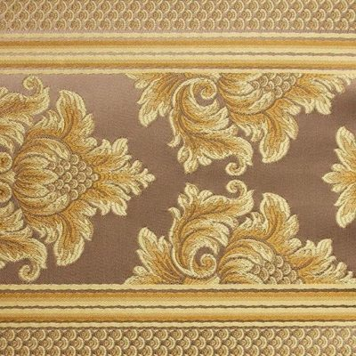 Жаккард Ткань ANGELIQUE ligne bronze для обивки мебели