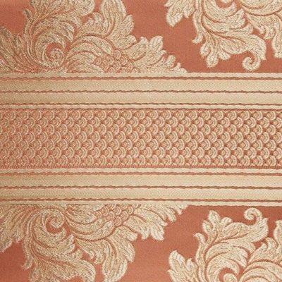 Жаккард Ткань ANGELIQUE ligne corail для обивки мебели