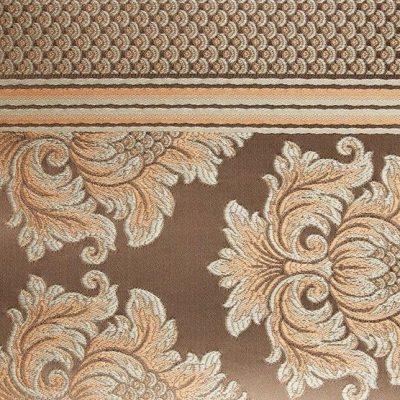 Жаккард Ткань ANGELIQUE ligne peche для обивки мебели