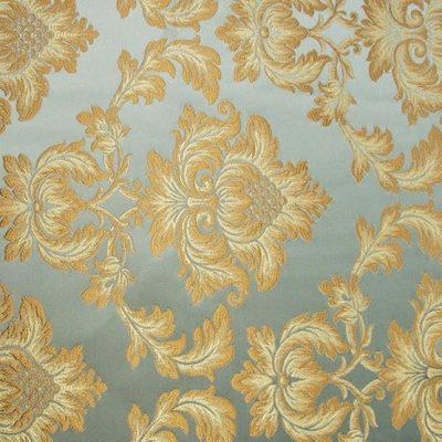 Жаккард Ткань ANGELIQUE monogramme bleu luxe для обивки мебели