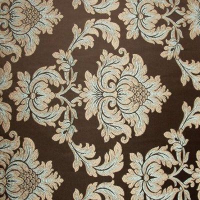 Жаккард Ткань ANGELIQUE monogramme truffe для обивки мебели