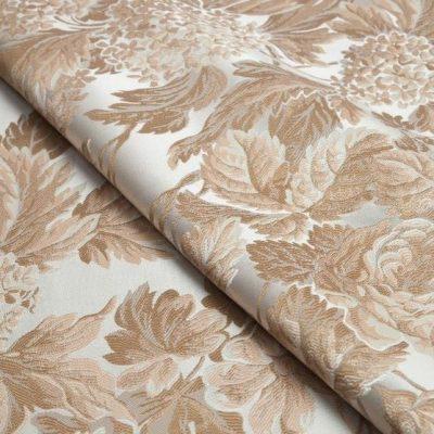 Жаккард Ткань BEATRICE oro bianco для обивки мебели
