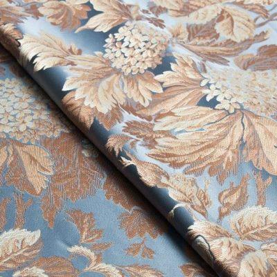Жаккард Ткань BEATRICE profondo blu для обивки мебели