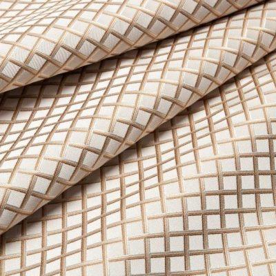 Жаккард Ткань BEATRICE rombo oro bianco для обивки мебели