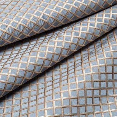 Жаккард Ткань BEATRICE rombo profondo blu для обивки мебели