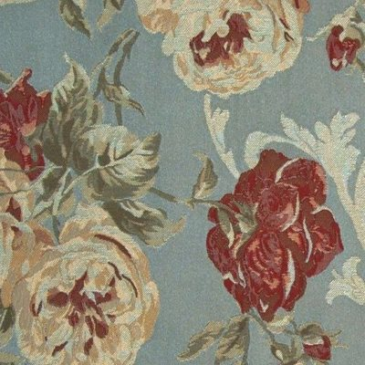 Жаккард Ткань MARIE ANTOINETTE blue для обивки мебели