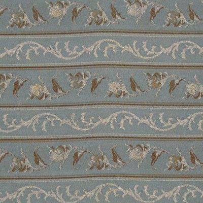 Жаккард Ткань MARIE ANTOINETTE STRIPE blue для обивки мебели