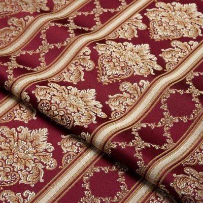 Жаккард Ткань CHATEAU LIGNE rubis для обивки мебели