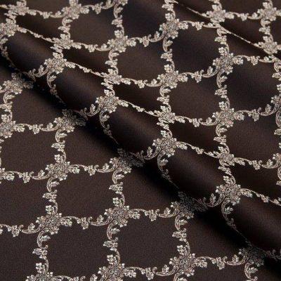 Жаккард Ткань CHATEAU LOSANGE chocolat N для обивки мебели