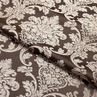 Жаккард Ткань CHATEAU MONOGRAMME chocolat N для обивки мебели