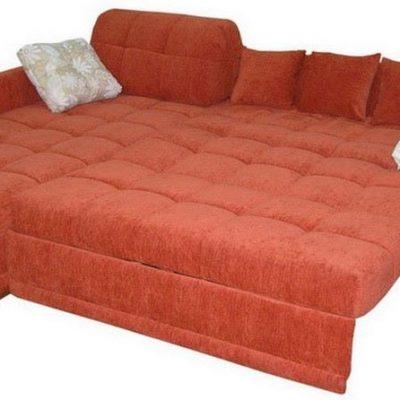 Пример изготовленного дивана по индивидуальным размерам в ГлавМебельРемонт