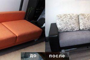 Пример ремонта и перетяжки мебели от ателье ГлавМебельРемонт