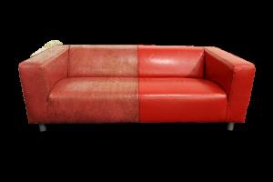 Когда возможен ремонт мягкой кожаной мебели?