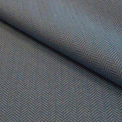Рогожка Ткань ECOTWEED beige blue для обивки мебели
