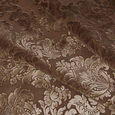 Флок Ткань EMFLOCK EMOTIONS VENZEL Bitter chocolate для обивки мебели