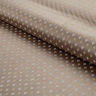 Жаккард FLORA damask comp beige для обивки мебели