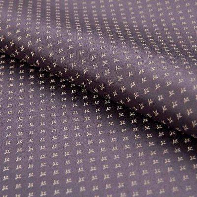 Жаккард FLORA damask comp lilac для обивки мебели
