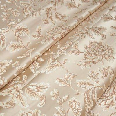 Жаккард Ткань MARGUERITE DE VALOIS fleur creme N для обивки мебели