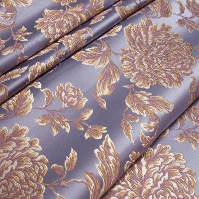 Жаккард Ткань MARGUERITE DE VALOIS fleur lavande N для обивки мебели
