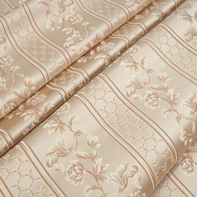 Жаккард Ткань MARGUERITE DE VALOIS ligne creme N для обивки мебели