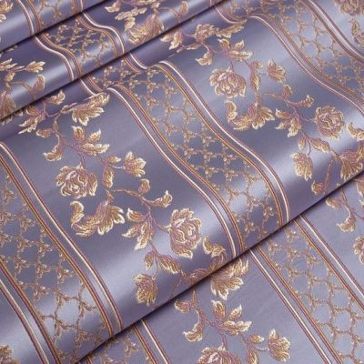 Жаккард Ткань MARGUERITE DE VALOIS ligne lavande N для обивки мебели