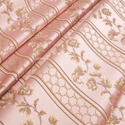Жаккард Ткань MARGUERITE DE VALOIS ligne rose N для обивки мебели