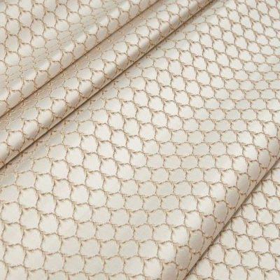 Жаккард Ткань MARGUERITE DE VALOIS losange blanc N для обивки мебели