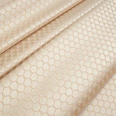Жаккард Ткань MARGUERITE DE VALOIS losange creme N для обивки мебели