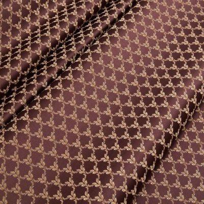 Жаккард Ткань MARGUERITE DE VALOIS losange marsala N для обивки мебели