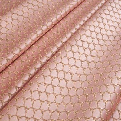 Жаккард Ткань MARGUERITE DE VALOIS losange rose N для обивки мебели