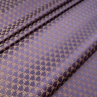 Жаккард Ткань MARGUERITE DE VALOIS losange violet N для обивки мебели