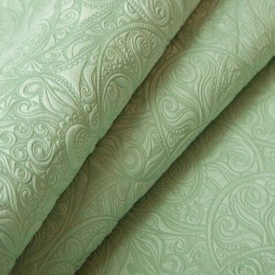 Микрофибра Ткань MARCO POLO Lucite green для обивки мебели