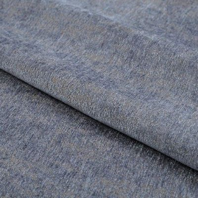 Жаккард Ткань MOIRE soft plain blue для обивки мебели