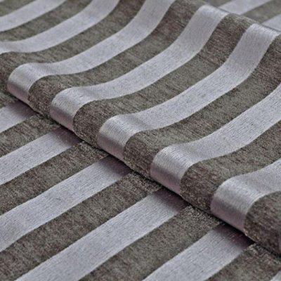 Жаккард Ткань MOIRE stripe titanium для обивки мебели