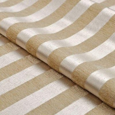 Жаккард Ткань MOIRE stripe white для обивки мебели