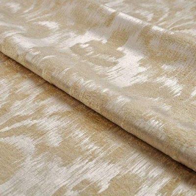 Жаккард Ткань MOIRE white для обивки мебели
